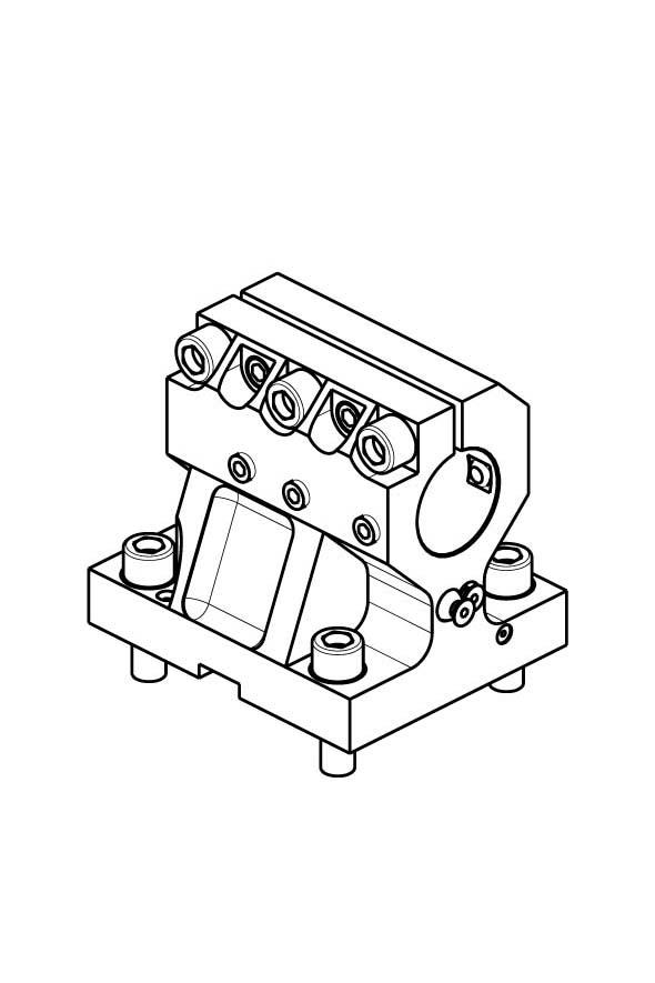 m t  s r l   u2013 axial boring bar holder  u00d840 mm     u00d81 1  2 u0026quot  h 80 mm